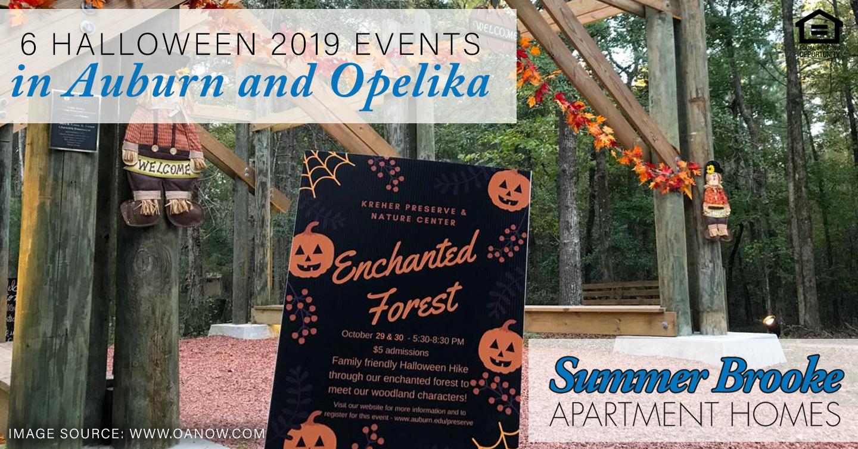 Halloween 2019 events in Auburn and Opelika