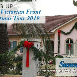 Victorian Front Porch Christmas Tour 2019