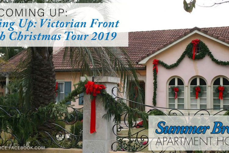 Coming Up: Victorian Front Porch Christmas Tour 2019