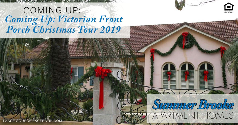 Victorian Front Porch Christmas Tour 2019