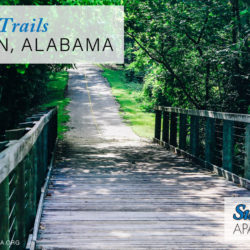 walking trails in Auburn, Alabama