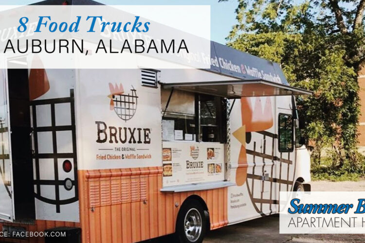 8 Food Trucks in Auburn, Alabama