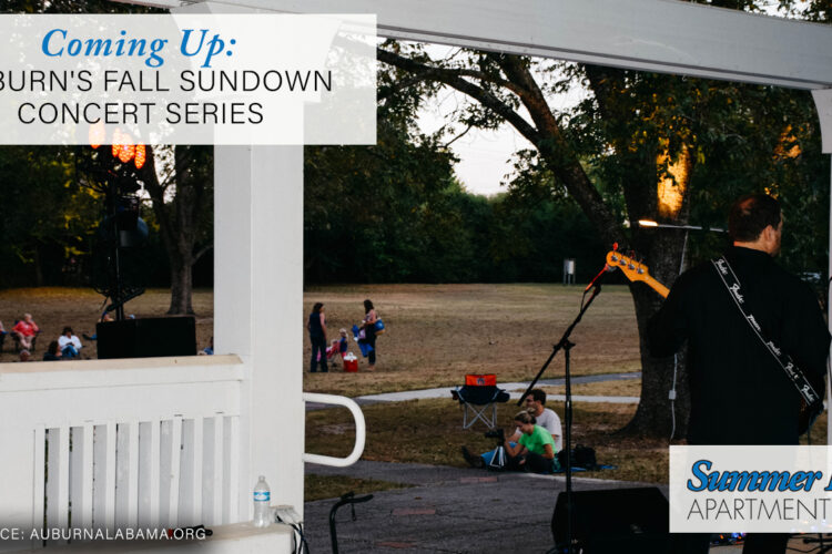 Coming Up: Auburn's Fall Sundown Concert Series