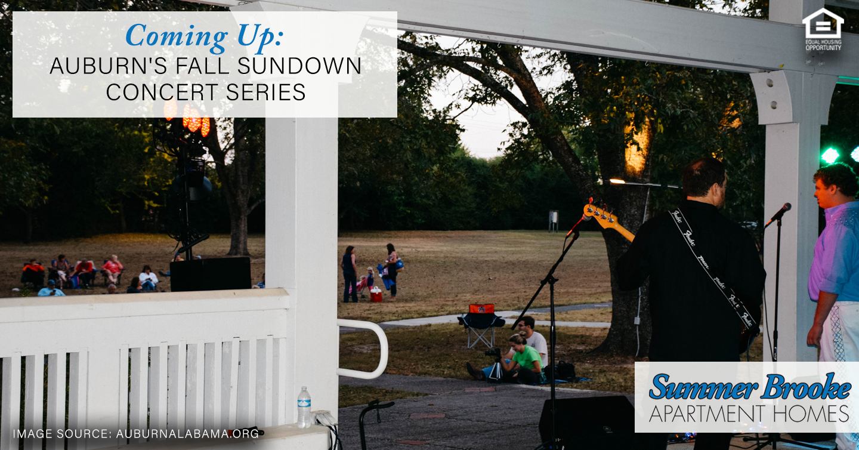 Auburn's fall sundown concert series