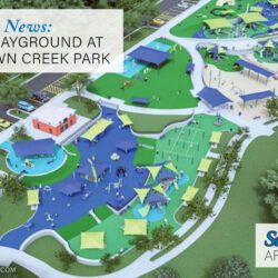 inclusive playground at Auburn's Town Creek Park