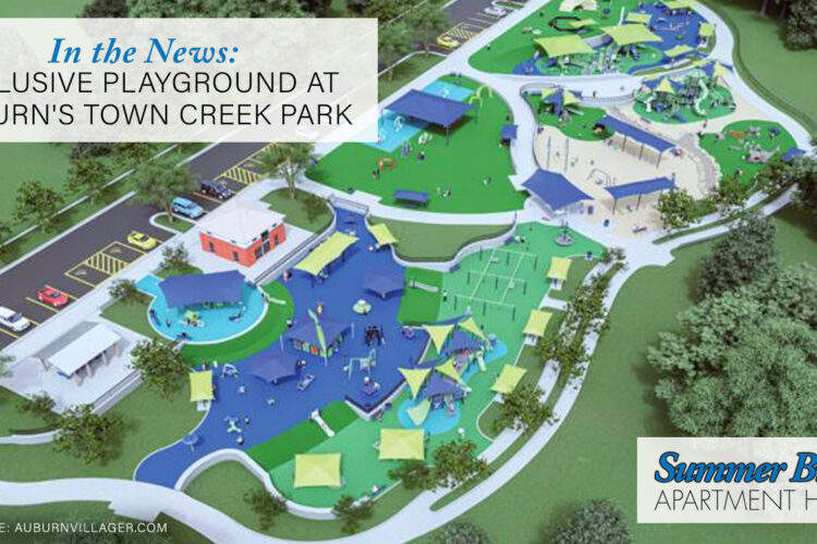 In the News: Inclusive Playground at Auburn's Town Creek Park