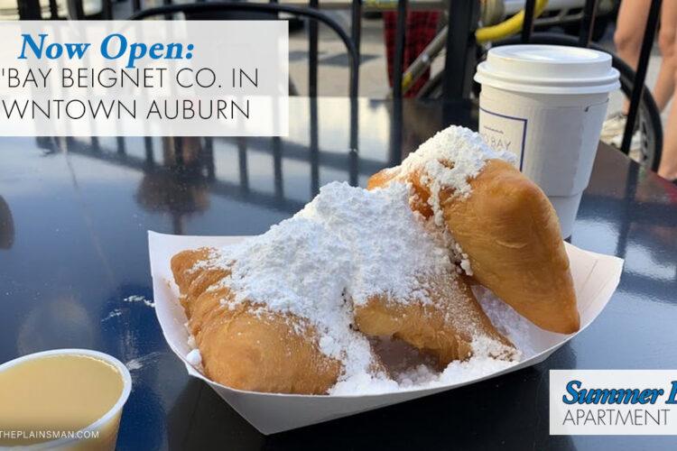 Now Open: Mo'Bay Beignet Co. in Downtown Auburn