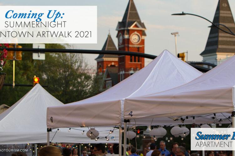 Coming Up: SummerNight Downtown Artwalk 2021