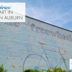 public art in downtown Auburn